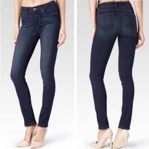 PAIGE Peg Skinny Jeans Size 25 Dark wash Like NEW